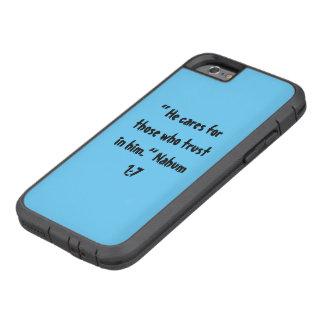 """""""He Cares"""" Iphone 6/6S Cell Phone Cover"""
