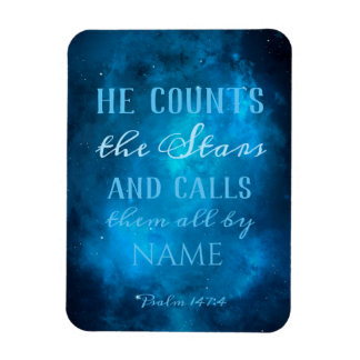 He Counts the Stars in the Universe Magnet