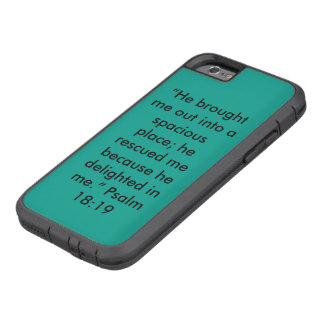 """""""He delighted in Me"""" Iphone 6/6S Cell Phone Case Tough Xtreme iPhone 6 Case"""