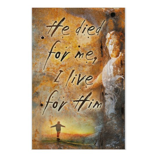 HE DIED FOR ME - Jesus Christ Religious