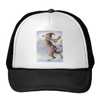He enjoyed the wind through his ears cap