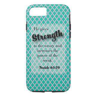 He gives Strength - Isaiah  40:29 iPhone 8/7 Case
