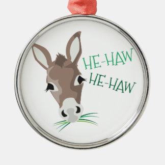 He-Haw Christmas Ornament