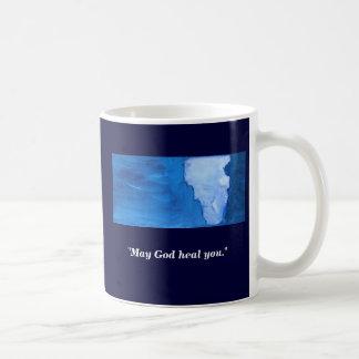HE HEALED THEM ALL COFFEE MUGS