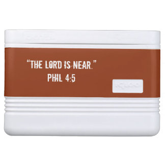"""He is Near"" Scripture 12 can Cooler Igloo Cool Box"