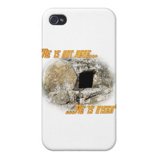 He is not here ... He is risen! Cover For iPhone 4