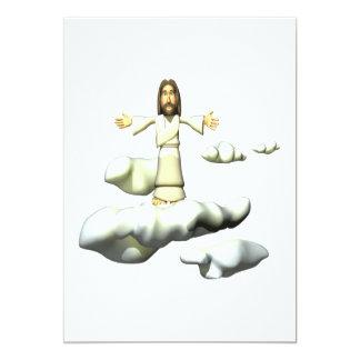 He Is Risen 13 Cm X 18 Cm Invitation Card
