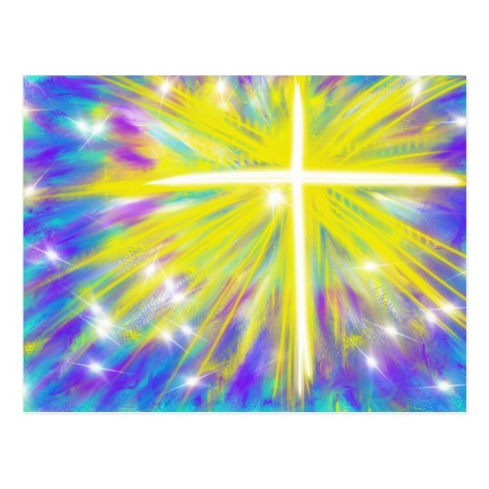 He is Risen Easter Christian Modern Art Design
