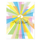 He Is Risen Easter Service Invitation Postcard