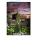 He Is Risen Hallelujah, Religious Easter Card