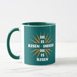 He Is Risen - Indeed He Is Risen Mug
