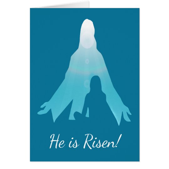 He is Risen Jesus Christ Easter Card