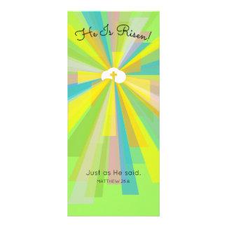 He Is Risen! Personalised Rack Card