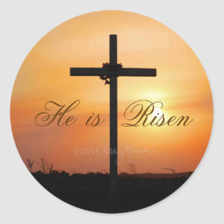 He is Risen stickers