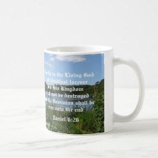 He is the Living God Coffee Mug