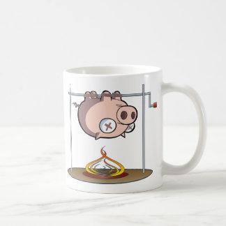 He Knew Too Much...Pig Roast Coffee Mug