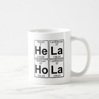 He-La Ho-La (hela hola) - Full Basic White Mug