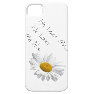He Loves Me, He Loves Me Not iPhone 5 Cover