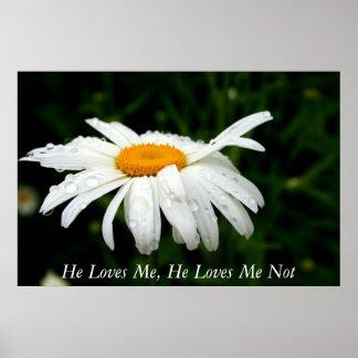 He Loves Me, He Loves Me Not Poster