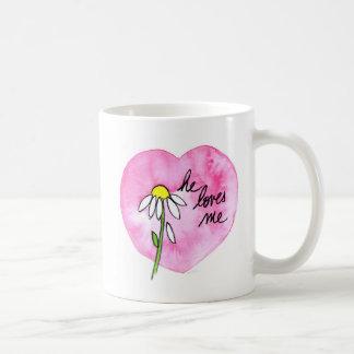 """""""He Loves Me"""" Mug"""