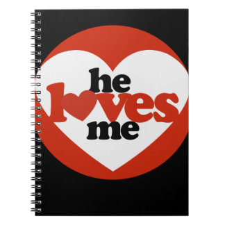 He Loves me Note Books