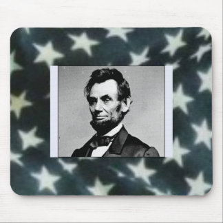 HE MADE AMERICA FREE FOR ALL MOUSE PAD