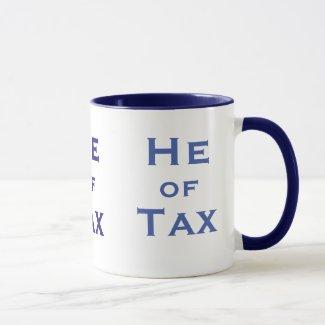 He of Tax Male Tax Accountant Man Tax Preparer Mug
