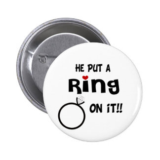 He put a Ring on it Buttons