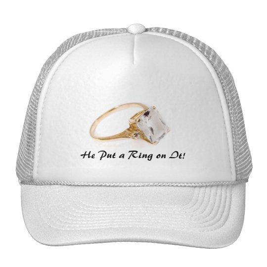 He Put a Ring on It/Save the Date Cap