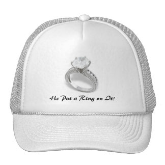 He Put A Ring On It/Save the Date Mesh Hats