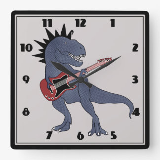 He-Rex Guitar Wall Clock