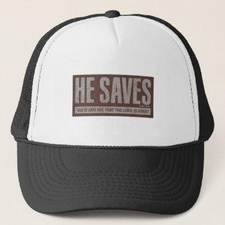 He Saves Trucker Hat