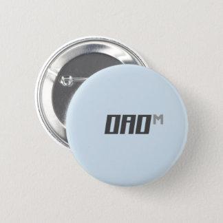 he&she 6 cm round badge