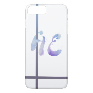 he&she iPhone 8 plus/7 plus case