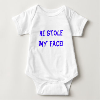He stole my face! tee shirts