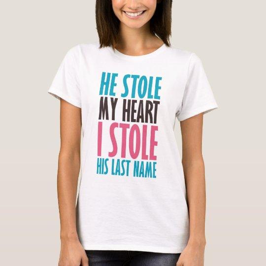 HE STOLE MY HEART BP.png T-Shirt