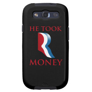 HE TOOK R MONEY png Galaxy SIII Cases