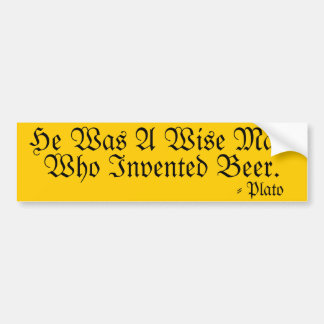 He Was A Wise Man Bumper Stickers