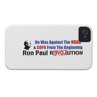 He Was Against NDAA & SOPA From The Beginning Case-Mate iPhone 4 Case