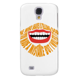 HE WHO SHAVES IS TELLING GOD YOU MADE A MISTAKE B GALAXY S4 COVERS