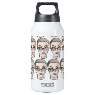head 10 oz insulated SIGG thermos water bottle