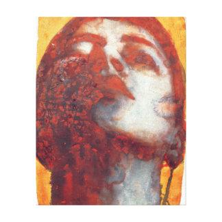 Head 2000 canvas print