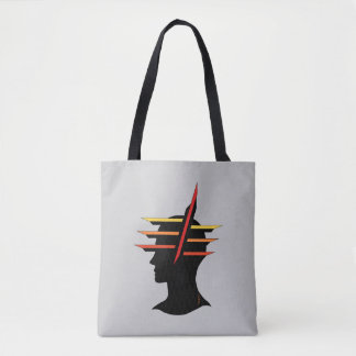 Head Abstract Tote Bag