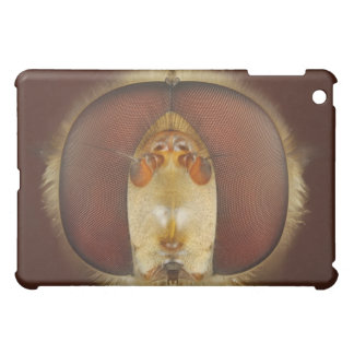 Head and Compound Eyes of a Hover Fly iPad Mini Covers