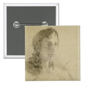 Head and hands of St. John, 1806 15 Cm Square Badge