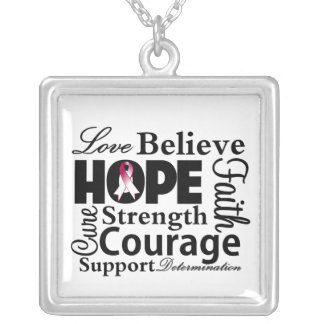 Head and Neck Cancer Collage of Hope Jewelry