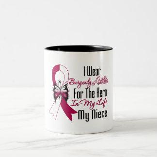 Head and Neck Cancer Hero My Niece Mug