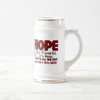 Head and Neck Cancer HOPE 1 Coffee Mug