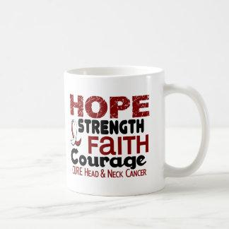 Head and Neck Cancer HOPE 3 Coffee Mugs