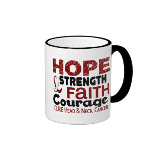 Head and Neck Cancer HOPE 3 Mugs